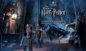 Harry Potter Adventure Map Harry Potter Studio Tour Forbidden Forest Expansion Announced