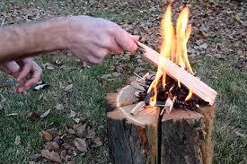 light and go bonfire light n go bonfire log an off the shelf swedish torch recoil offgrid