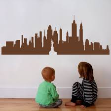 aliexpress com buy new york city skyline silhouette the big