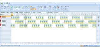 24 Hour Work Schedule Template Excel Employee Scheduling Exle 8 Hr Shifts 24 7 4 On 2 Work