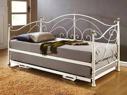 white metal daybed with pop up trundle daybed iron daybed trundle