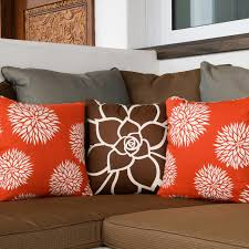 Modern Throw Pillows For Sofa Floral Modern Eco Throw Pillows For Modern San Diego