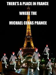 Prancing Cera Meme - sober in a nightclub prance michael cera prance