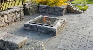 Square Firepit Dimensional Square Firepit Barkman Concrete Ltd