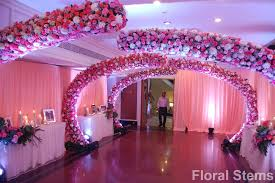 wedding decorator floral stems wedding decorators in mumbai shaadisaga