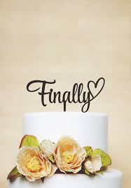 personalized cake topper finally cake topperwedding cake toppercustom cake