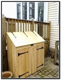 Trash Can Storage Cabinet Outdoor Garbage Can Storage Home Depot Home Design Ideas