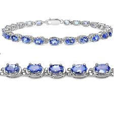 bracelet silver tennis images Tanzanite tennis bracelet crafted in sterling silver jpg