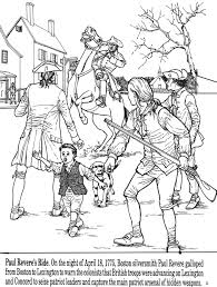 paul revere s ride book all things coloring pages paul revere s ride