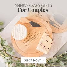 anniversary gift ideas for husband wedding anniversary gifts ideas gettingpersonal co uk