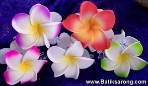 Flower Clips For Hair - hibiscus hair clips from bali hair accessories jewelry indonesia