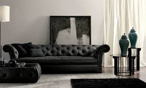 Cloth Chesterfield Sofa by Black Fabric Chesterfield Sofa 72 With Black Fabric Chesterfield