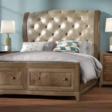 sleigh bedroom set willa arlo interiors alcalde upholstered storage sleigh bed