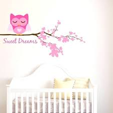 Nursery Owl Wall Decals Owl Wall Decals For Nursery Together With Sweet Dreams Owl