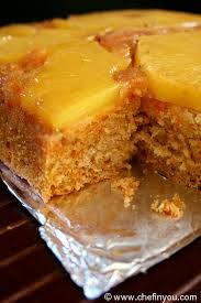 pineapple upside down cake recipe with carrot chef in you