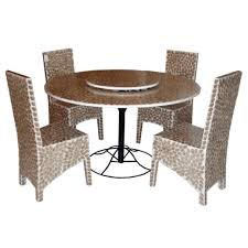 Metal Dining Room Chairs by Furniture Stainless Steel Farme Dining Table Set Outdoor Modern