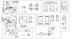 Reception Desk Cad Block Autocad File Clinic Furniture Block