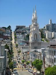 San Francisco Walking Map by North Beach Walking Tour San Francisco Usa