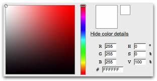 Yui 2 Color Picker Control Web Page Color Picker