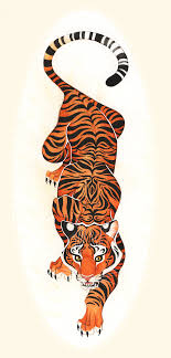 crawling tiger tiger design by pinteres
