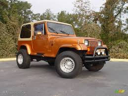 1988 copper orange jeep wrangler laredo 4x4 746836 gtcarlot com
