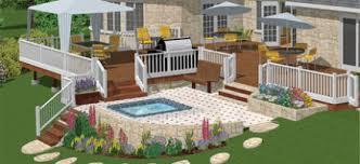home design software hgtv landscaping deck design with hgtv software