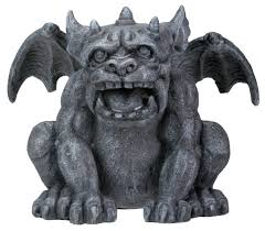 fido collectible figurine statue sculpture figure gargoyle model