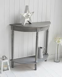 Half Moon Side Table Collection In Grey Table And Best 25 Half Moon Table Ideas On
