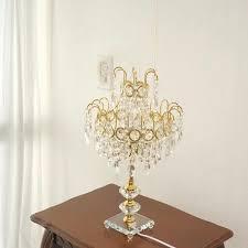 Antique Black Chandelier Table Lamp Black Chandelier Table Lamp Uk Style Canada