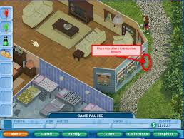 house design virtual families 2 virtual families watering the flowers the leaky hose must be fixed