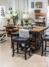 Wine Bar Table Rustic Upholstered Chairs Midcentury Furniture And More To Explore