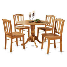 5 pc round pedestal dining table 5pc round pedestal drop leaf kitchen table 4 chairs kitchen table