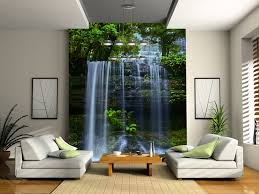 interior wallpaper for home tasmania waterfall wall mural wallpaper photowall home decor