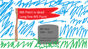 the end of an era microsoft removes paint after 32 years but