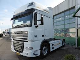 Daf Xf Super Space Cab Interior Daf Xf 105 460 Super Space Cab Ssc Euro 5 Tractor Unit From