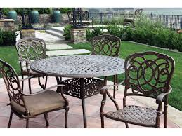 Darlee Patio by Darlee Outdoor Living Series 60 Cast Aluminum 48 Round Dining