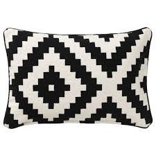 lappljung ruta cushion cover white black ikea playroom ikea