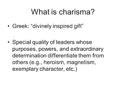 the of traits motives and charisma in leadership ppt