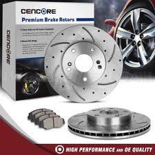 2007 honda accord rotors front 2 drilled slotted brake rotors and 4 ceramic pads for 03 07