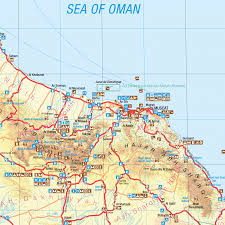 map of oman oman tourist map discover the sultanate of oman