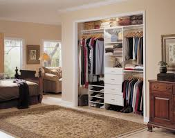 Wood Closet Shelving by Interior Interesting Small Walk In Closet Decoration Using White