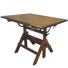 Hamilton Industries Drafting Table Vintage Hamilton Drafting Table At 1stdibs