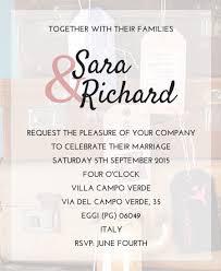 Wedding Invite Verbiage Download Wedding Invite Wording Wedding Corners