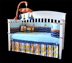 10 Piece Nursery Bedding Sets by Amazon Com Dk Leigh Crib Bedding Set Sailboat Nautical Plaid