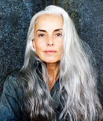 Old Hair At 59   yasmina rossi the 59 year old model revolutionizing the industry