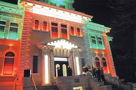courthouse lighting up black friday journal advocate
