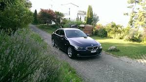 first bmw my first bmw 07 e92 330i monacoblue manual gearbox and the