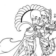 draw megamind characters coloring pages bulk color