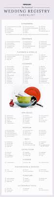 best place to do a wedding registry everything you need to check your wedding registry checklist