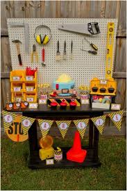 construction birthday party boys construction themed birthday party ideas spaceships and
